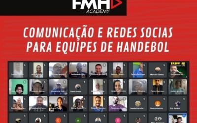 FEDERAÇÃO MINEIRA DE HANDEBOL REALIZA O MÓDULO I DO CURSO DE COMUNICAÇÃO E REDES SOCIAIS PARA EQUIPES DE HANDEBOL