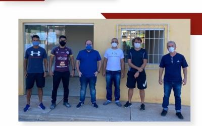 FEDERAÇÃO MINEIRA DE HANDEBOL VISITA PREFEITURA DE PONTE NOVA ATRAVÉS DO PROJETO FMH NA ESTRADA