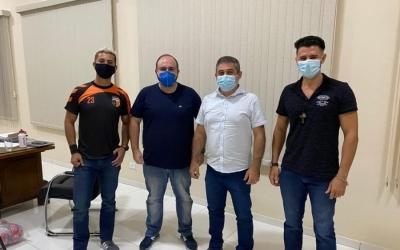 FEDERAÇÃO MINEIRA DE HANDEBOL - FMH REALIZA VISITA À PREFEITURA MUNICIPAL DE CAMPO DO MEIO