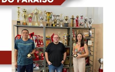 MUNICÍPIO DE PASSOS RECEBE A VISITA DA FEDERAÇÃO MINEIRA DE HANDEBOL
